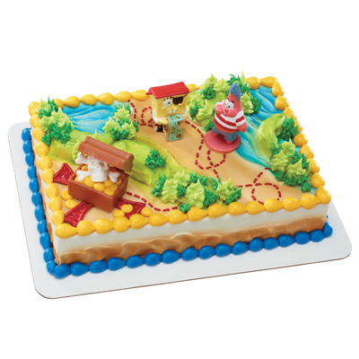 Shop Bakery Decorated Cakes Spongebob Squarepants