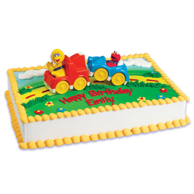 Shop Bakery Decorated Cakes Sesame Street Tow Truck 37838