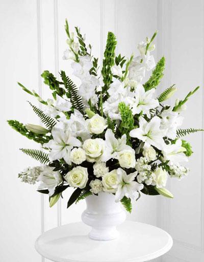 shop floral sympathy ftd morning stars arrangement. Black Bedroom Furniture Sets. Home Design Ideas