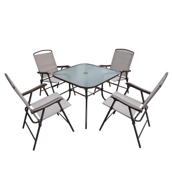 shop home garden patio furniture sling folding 5