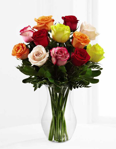 shop floral roses ftd the enchanting rose bouquet. Black Bedroom Furniture Sets. Home Design Ideas