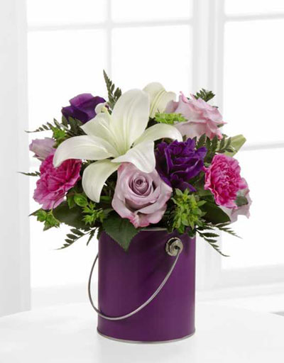 shop floral birthday ftd color your day with beauty bouquet. Black Bedroom Furniture Sets. Home Design Ideas