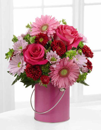 shop floral anniversary ftd color your day with happiness bouquet. Black Bedroom Furniture Sets. Home Design Ideas