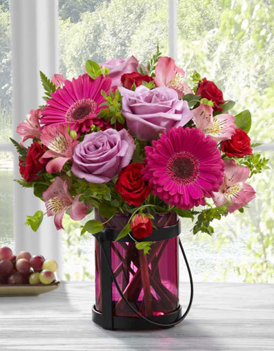 Shop Floral Anniversary The FTD Pink Exuberance Bouquet By Better