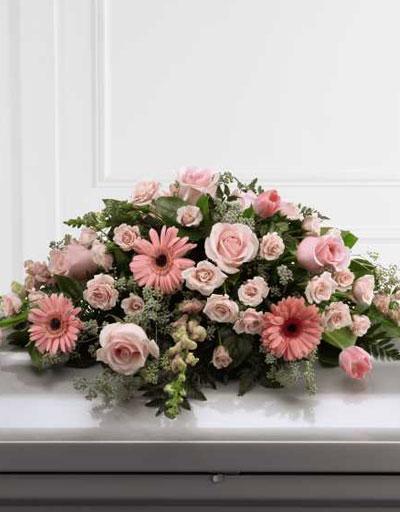 Shop Floral Sympathy FTD Sweet Farewell Casket Spray