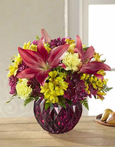 Shop floral seasonal the ftd autumn splendor bouquet