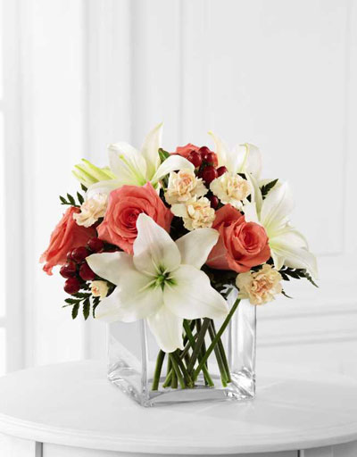 Shop Floral Anniversary FTD Blushing Beauty Bouquet