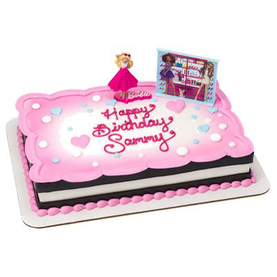 Shop Bakery Decorated Cakes Barbie Love To Sparkle 38303