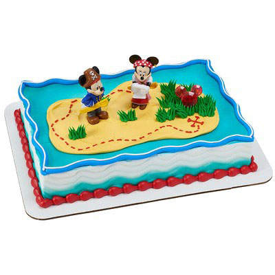 Shop Bakery Decorated Cakes Mickey Amp Minnie Pirate