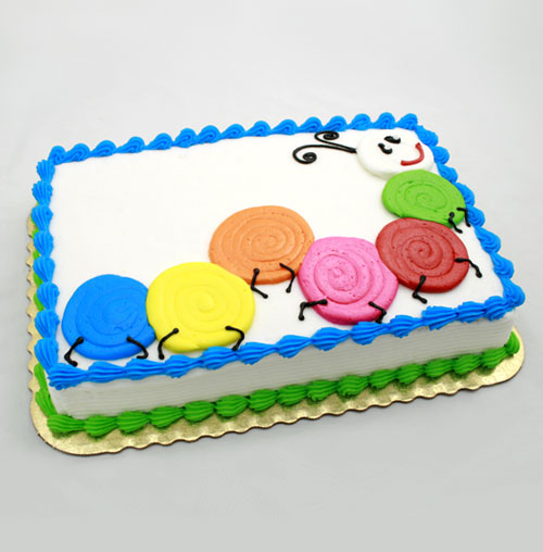 Hy Vee Cakes Prices How To Order: #7 Caterpillar Party Cake
