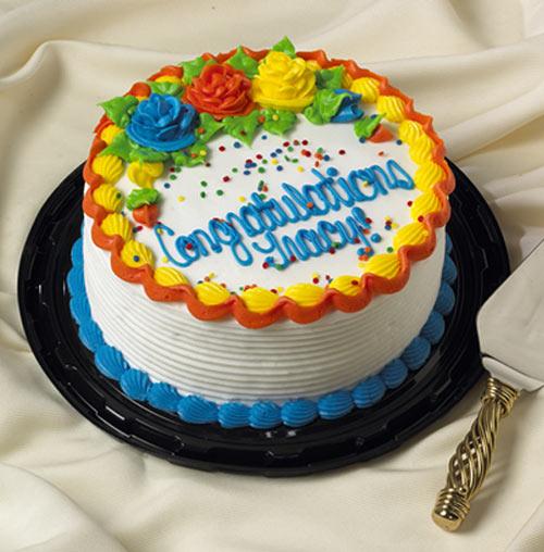 7 round cake