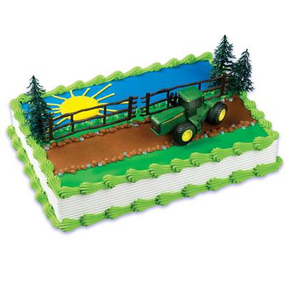 Tractor Cake Decorating Kit
