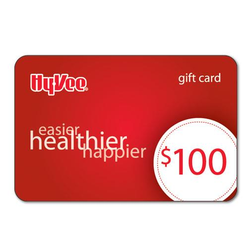 Hy-Vee Gift Card - 100 Dollars