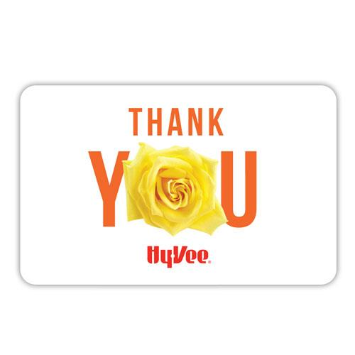 Hy-Vee Gift Card - Thank You (40558)