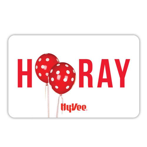 Hy-Vee Gift Card - Hooray (54032)