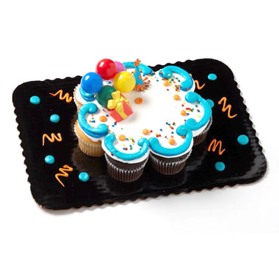 Birthday Party Cupcakes - 8 count