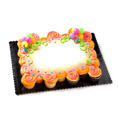 Birthday Cupcake Pull-Apart - 35 count
