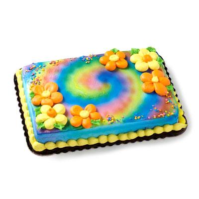 4 Flower Power Fl Cake