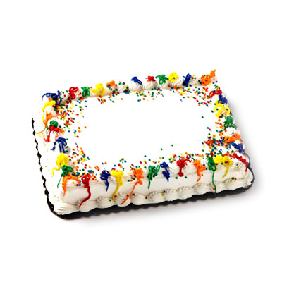 Awesome 1 Streamers Party Cake Hy Vee Aisles Online Grocery Shopping Funny Birthday Cards Online Elaedamsfinfo