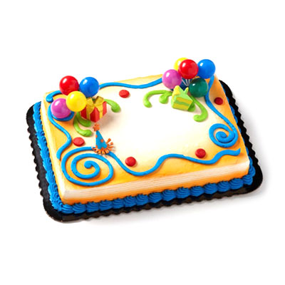 Fine 3 Cake Presents Party Cake Hy Vee Aisles Online Grocery Shopping Funny Birthday Cards Online Elaedamsfinfo