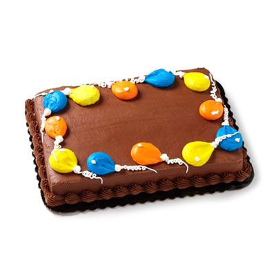 Pleasant 6 Balloons Party Cake Hy Vee Aisles Online Grocery Shopping Funny Birthday Cards Online Elaedamsfinfo