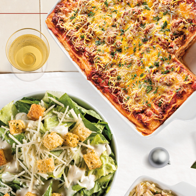 Party Pack Lasagna Meal