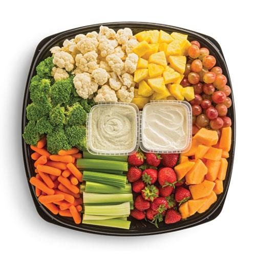 50/50 Fruit and Vegetable Tray