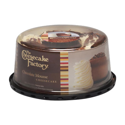"The Cheesecake Factory® 6"" Cheesecake – Chocolate Mousse"