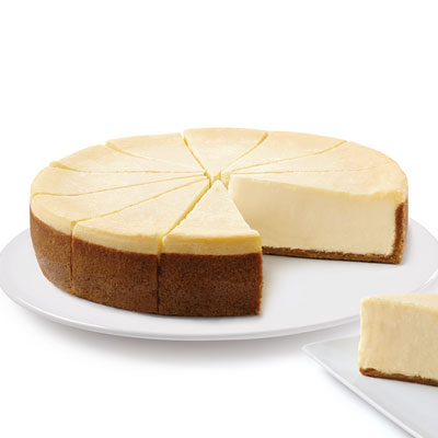 "The Cheesecake Factory Bakery® 10"" Cheesecake – Plain"