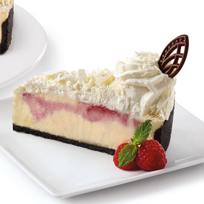 The Cheesecake Factory Bakery® slice – White Chocolate Raspberry