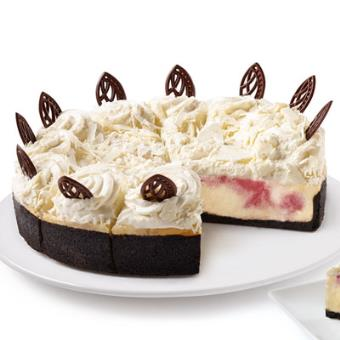 The Cheesecake Factory BakeryR 10 White Chocolate Raspberry