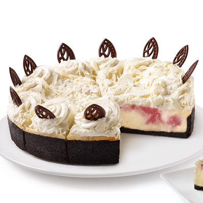 "The Cheesecake Factory Bakery® 10"" – White Chocolate Raspberry"