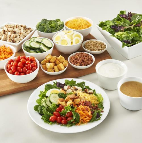Build Your Own Salad Bar