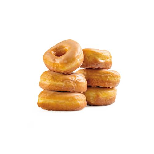 6 Count Glazed Donuts
