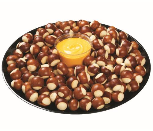 Pretzel Bites with Cheese Dip Tray