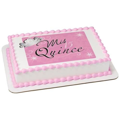 Mis Quince Sheet Cake 20017