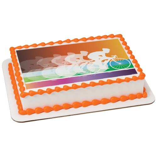 Cycling Sheet Cake 20282