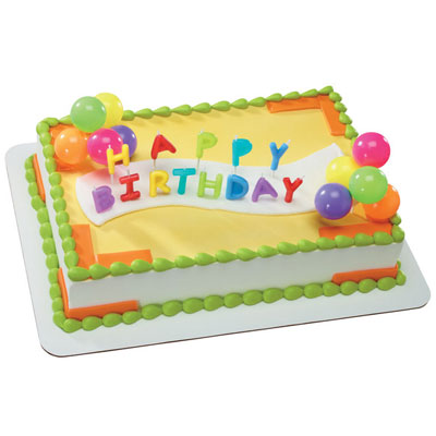 Happy Birthday Cake 15113