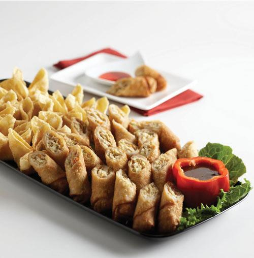 Signature Chinese Delight Appetizer Platter