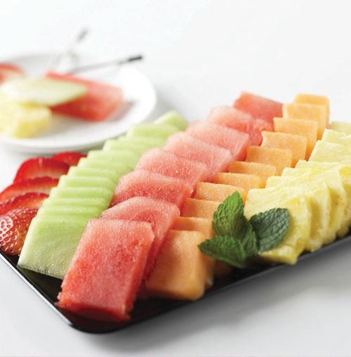 Signature Melon Medley Hostess Tray