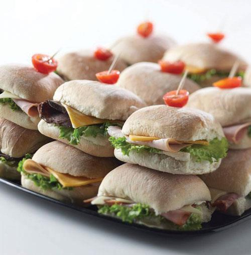 Signature Mini Ciabatta Party Platter