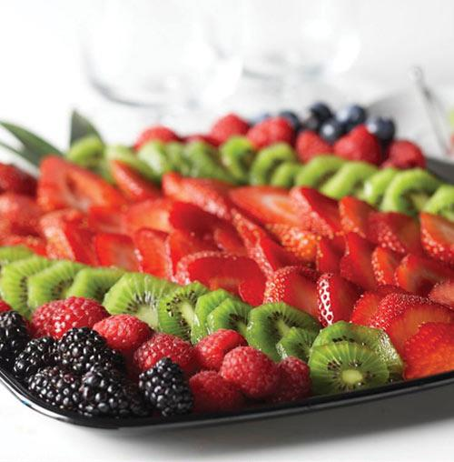 Signature Sparkling Berry Tray