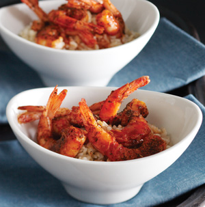 Chef Steve Henderson's Midnight Shrimp with Rice